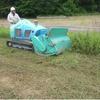 機械除草作業